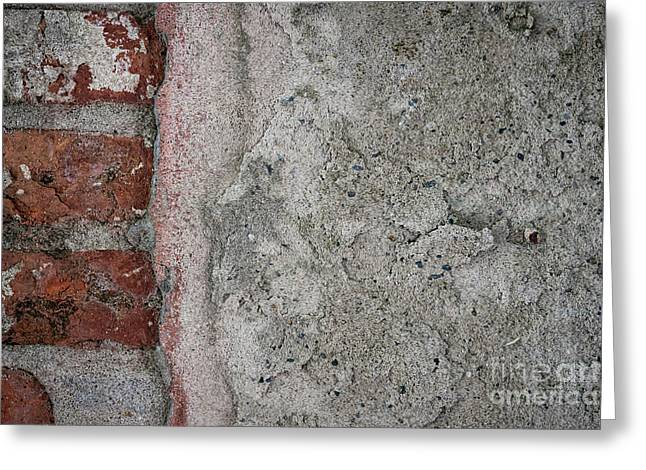Greeting Card featuring the photograph Old Wall Fragment by Elena Elisseeva