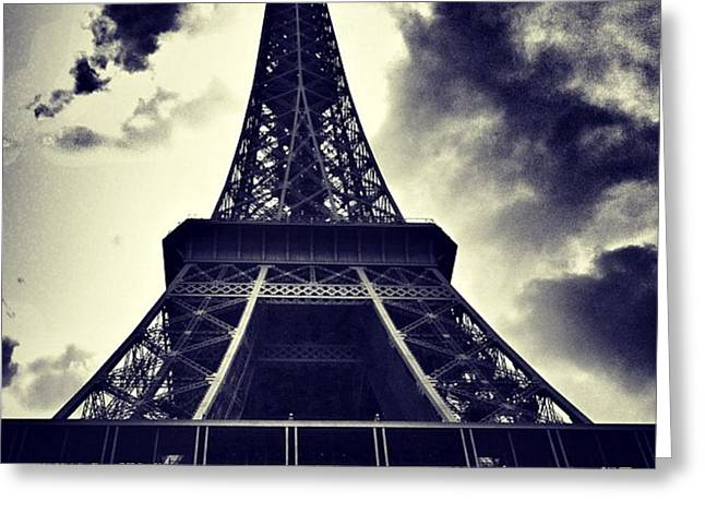 #paris Greeting Card
