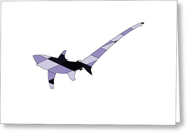 Pelagic Thresher Greeting Card