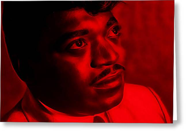 Percy Sledge Collection Greeting Card by Marvin Blaine