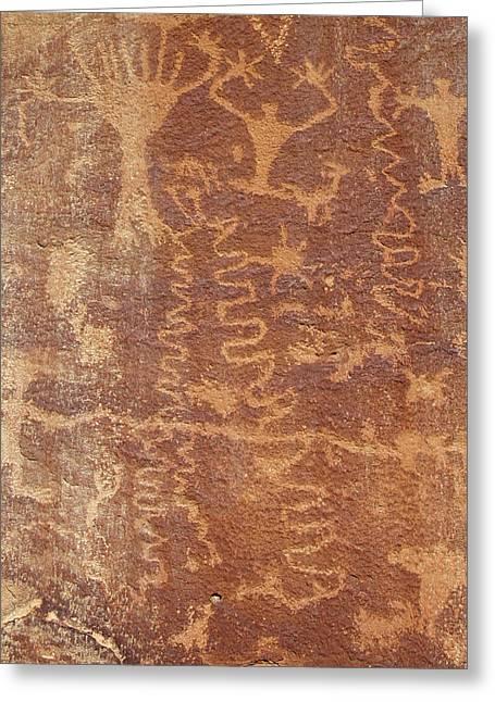 Petroglyph - Fremont Indian Greeting Card