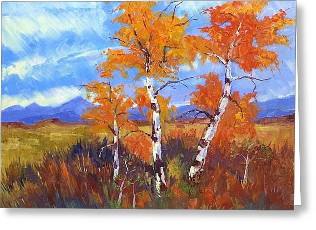 Plein Air Series Greeting Card