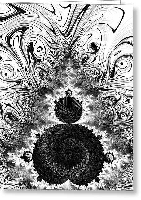 Primordial Duality  Greeting Card by Fred Andrews IV