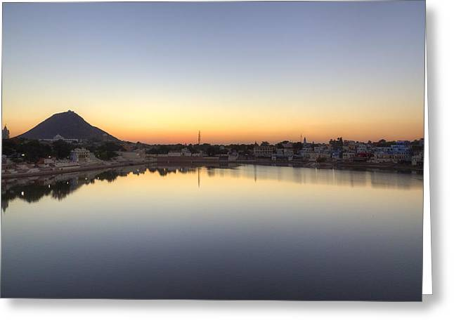 Pushkar - India Greeting Card