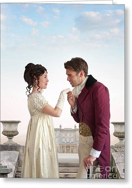Regency Couple  Greeting Card
