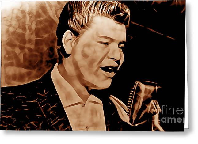 Ritchie Valens Collection Greeting Card by Marvin Blaine