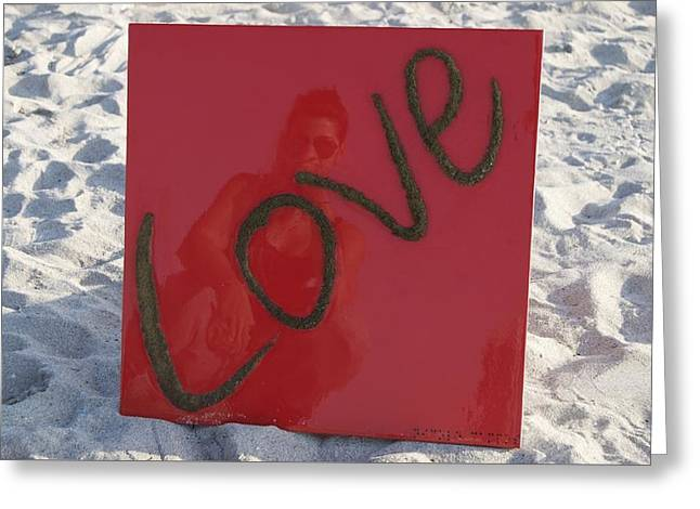 Roseate Love Greeting Card