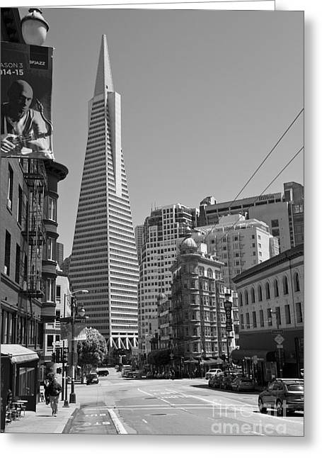 San Francisco Street Scenes Greeting Card by ELITE IMAGE photography By Chad McDermott
