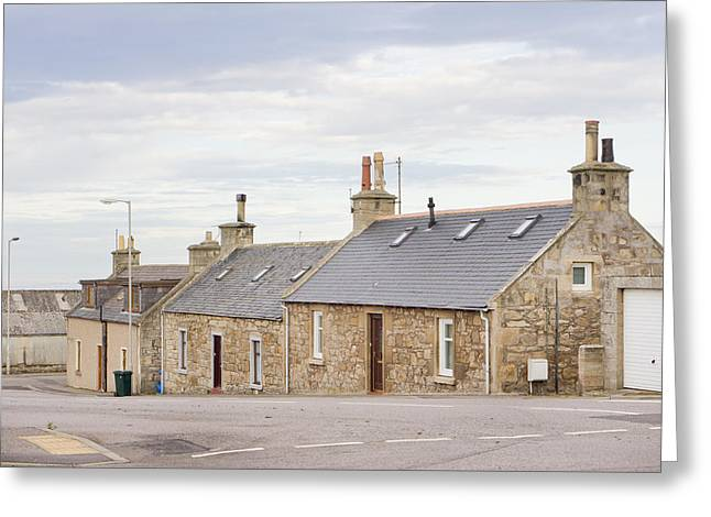 Scottish Bungalows Greeting Card