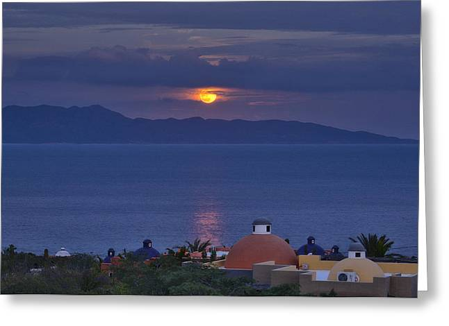 Sea Of Cortez Greeting Card by Christian Heeb