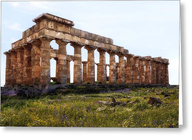 Selinunte - Sicily Greeting Card by Joana Kruse