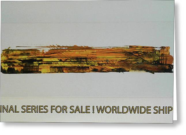 Series Abstract Worlds Only Originals For Sale Worldwide Shipping Greeting Card