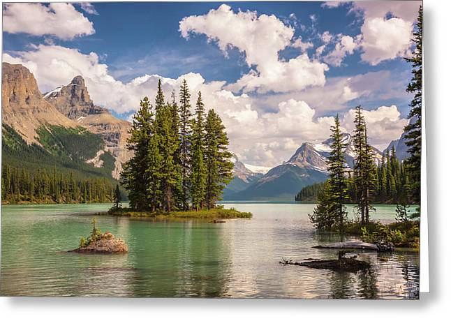 Greeting Card featuring the photograph Spirit Island by Mark Mille