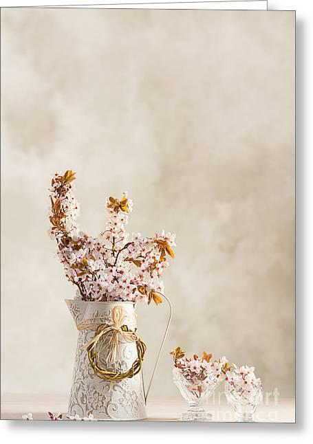 Spring Blossom Greeting Card by Amanda Elwell