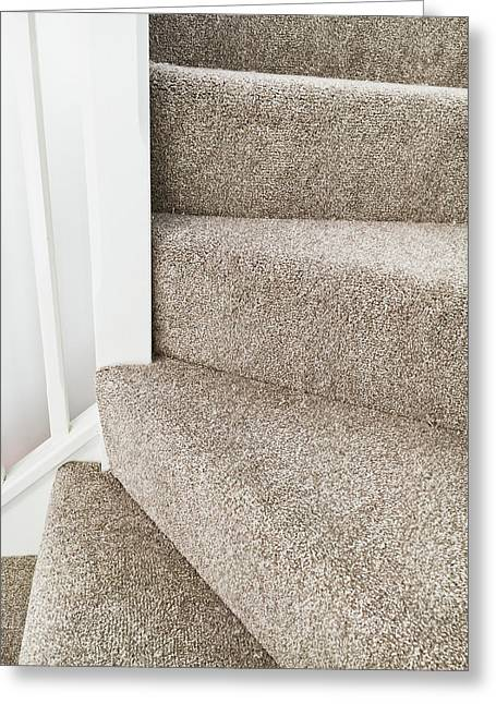 Staircase Greeting Card by Tom Gowanlock