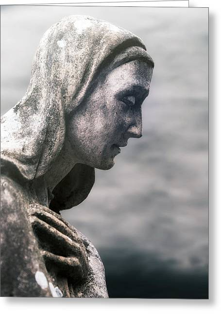 Statue Greeting Card by Joana Kruse