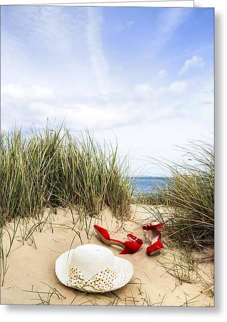 Summer At The Sea Greeting Card