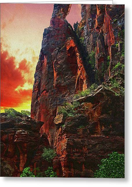 Sunrise In Canyonlands Greeting Card