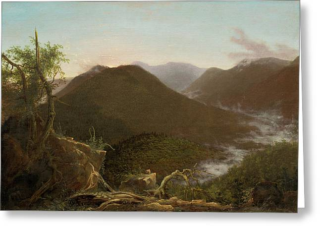 Sunrise In The Catskills  Greeting Card by Thomas Cole
