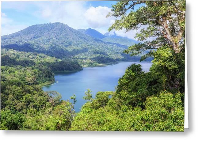 Tamblingan Lake - Bali Greeting Card