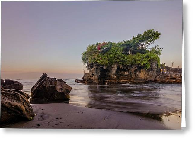 Tanah Lot - Bali Greeting Card