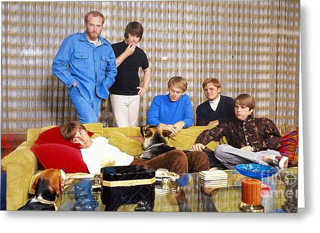 The Beach Boys 1966 Greeting Card by The Titanic Project