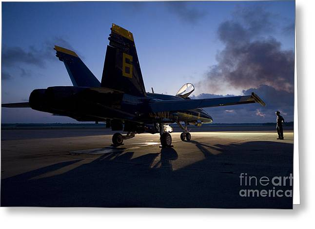 the Blue Angels Greeting Card