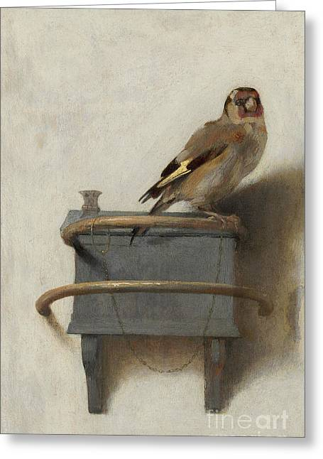 The Goldfinch Greeting Card