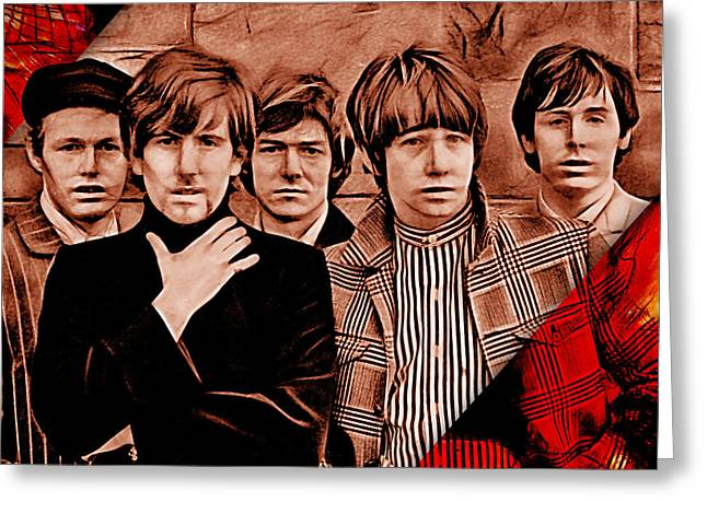 The Hollies Collection Greeting Card