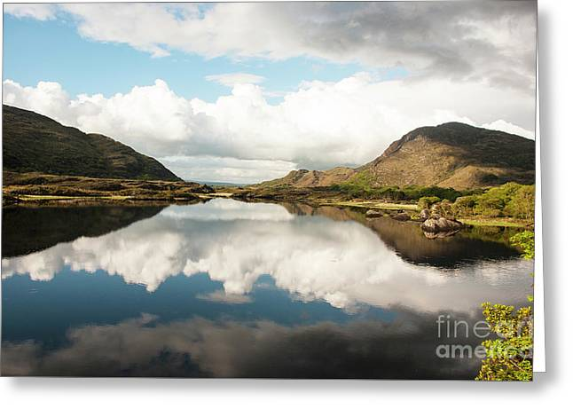 The Lakes Of Killarney Greeting Card by Joe Cashin