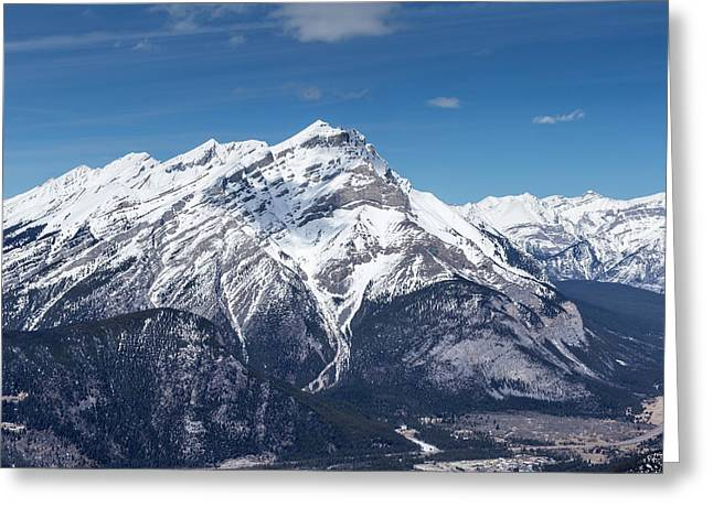 Greeting Card featuring the photograph The Rockies Landscape by Josef Pittner