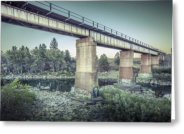 The Spokane River Centennial Trail Greeting Card