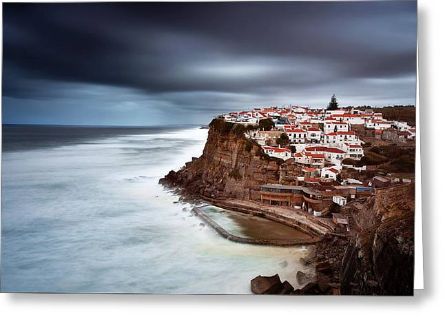Greeting Card featuring the photograph Upcoming Storm by Jorge Maia