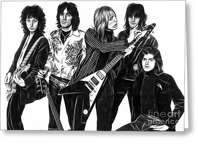 Tom Petty And The Heartbreakers Collection Greeting Card by Marvin Blaine