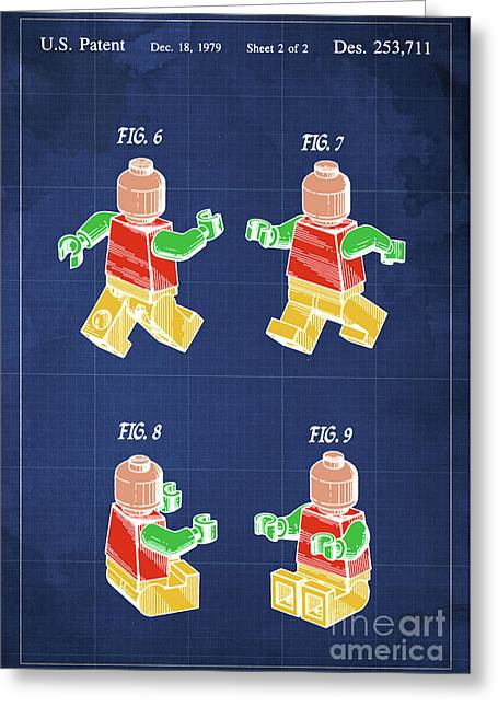 Toy Figure Patent Year 1979 Greeting Card