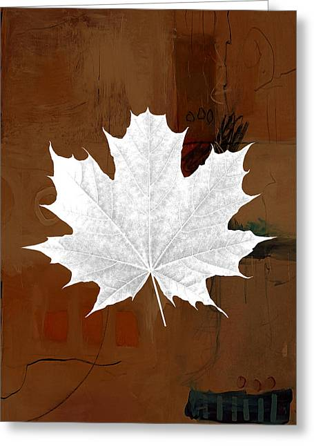 Tree Leaf Art Greeting Card by Marvin Blaine