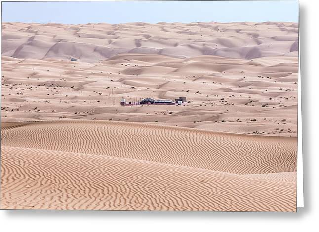 Wahiba Sands - Oman Greeting Card