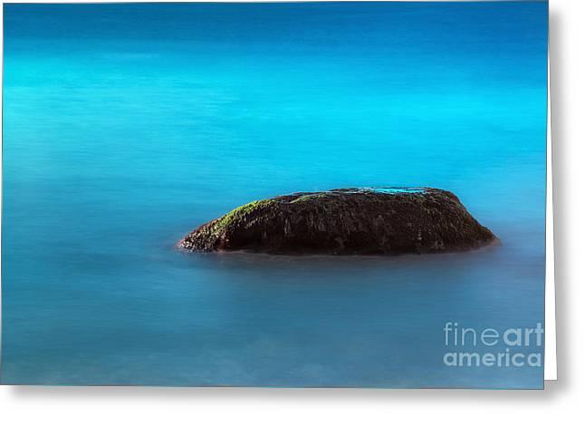 Water Rock Greeting Card