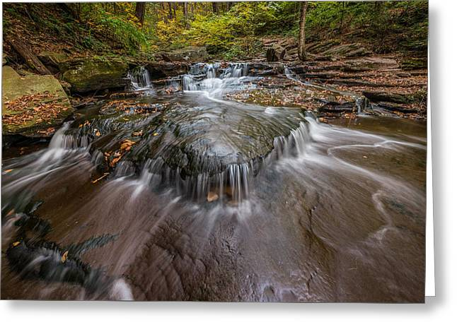 Ricketts Glen State Park Pennsylvania Cascades Greeting Card