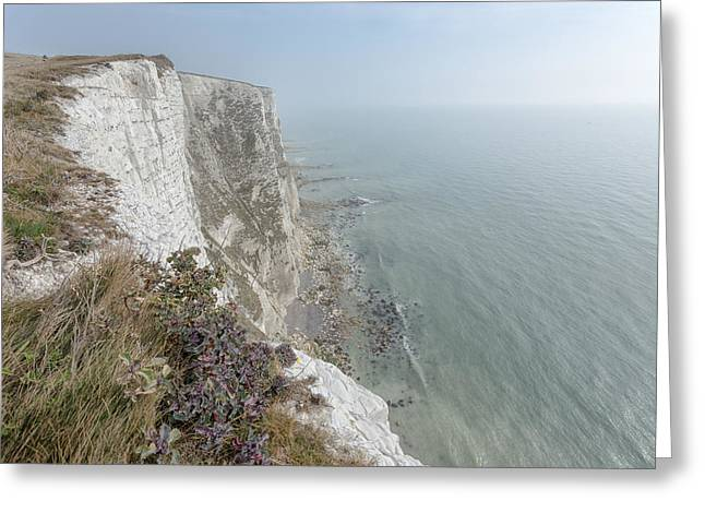 White Cliffs Of Dover Greeting Card