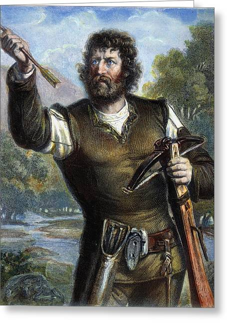 William Tell Greeting Card by Granger