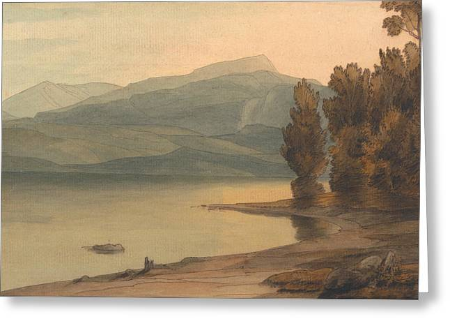Windermere At Sunset Greeting Card
