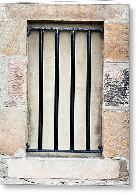 Window Bars Greeting Card
