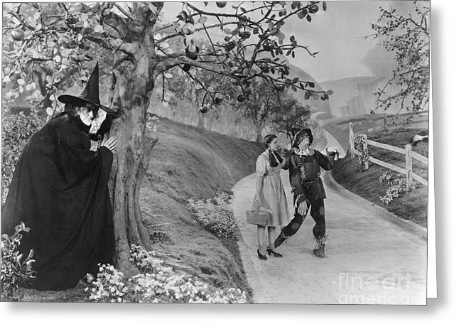Celebrities Photographs Greeting Cards - Wizard Of Oz, 1939 Greeting Card by Granger
