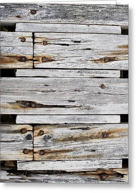 Wood Panels Greeting Card