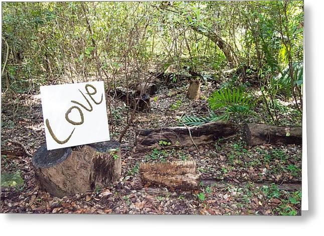 Wright Love Greeting Card