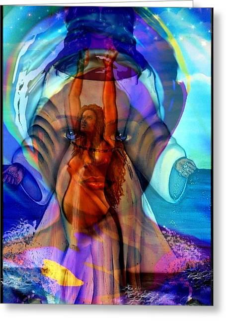 Yemaya- The Goddess Greeting Card