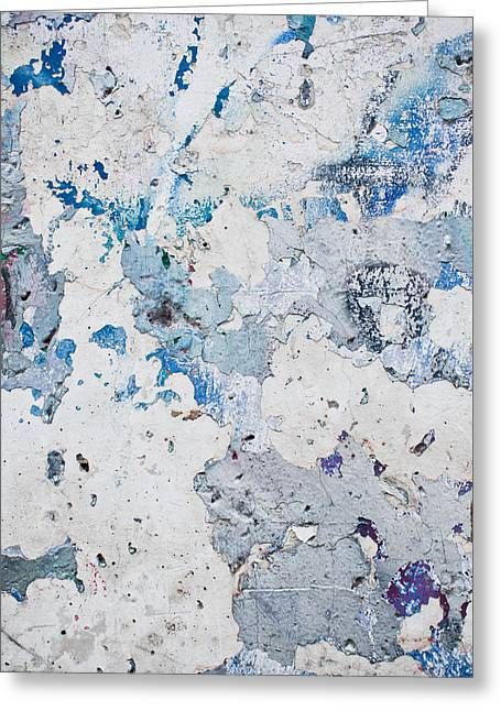 Peeling Paint Greeting Card by Tom Gowanlock