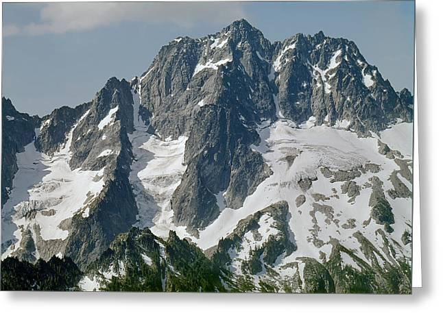 304630 North Face Mt. Stuart Greeting Card