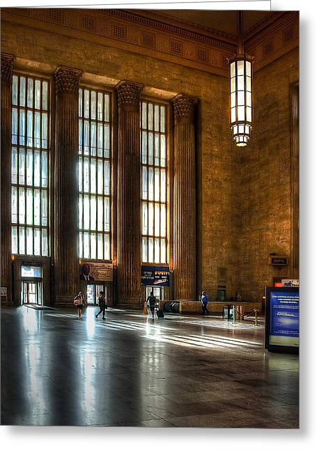 30th Street Station Greeting Card
